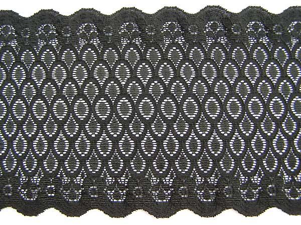 stretch lace black