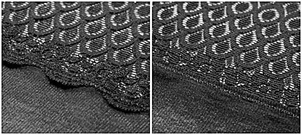 lace-finishing