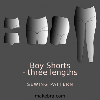 Boy Shorts - three lengths