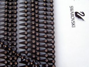Swarovski crystal trim